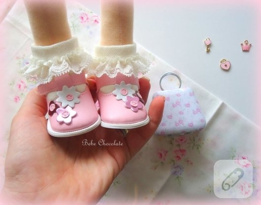 minik-pembe-bebek-ayakkabilari