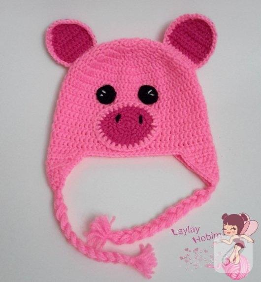 anlatimli-bebek-orguleri-domuzcuk-bebek-beresi-yapimi