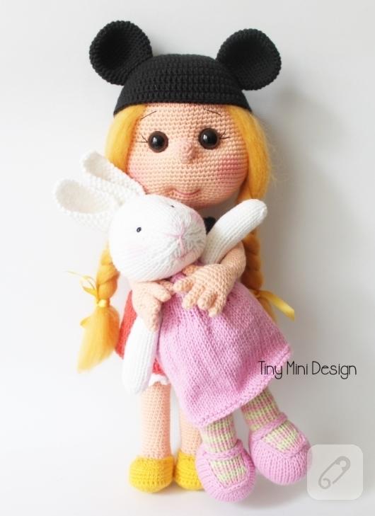 Minnie mouse | Amigurumi modelleri, Amigurumi oyuncak bebek, Amigurumi | 729x530
