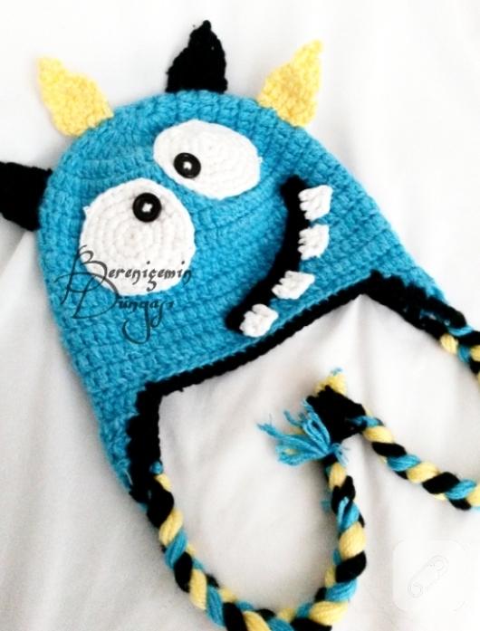 monster-mavi-kulakli-cocuk-beresi-yapimi-anlatimli-orguler-1