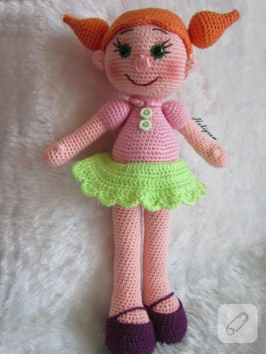 amigurumi-turuncu-sacli-oyuncak-bebek-modelleri