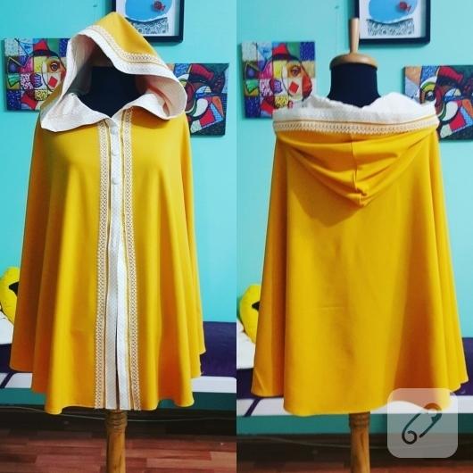 kapusonlu-sari-pelerin-modeli