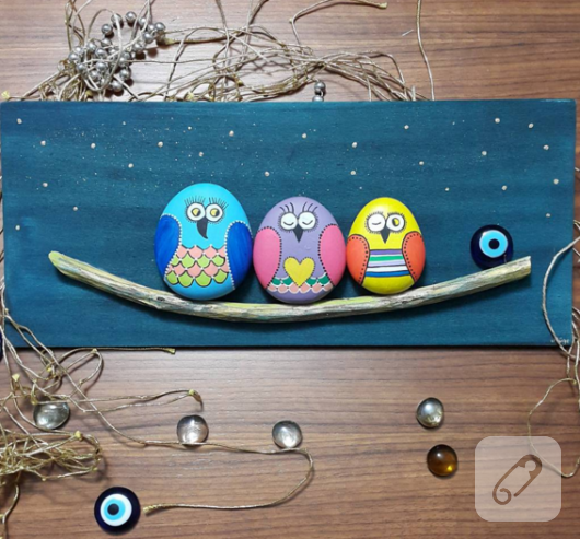 baykuslu-tas-boyama-dekoratif-pano