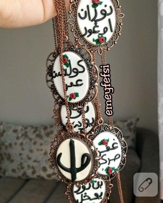 fimo-hamurundan-arapca-harfli-kolye-modeli