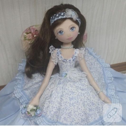 mavi-elbiseli-bez-bebek-modeli
