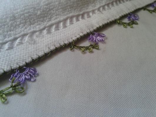iğne oyasından çiçekli havlu kenarı yapımı (2)