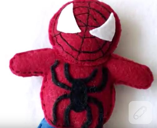 Keçeden örümcek Adam Yapımı 10marifetorg