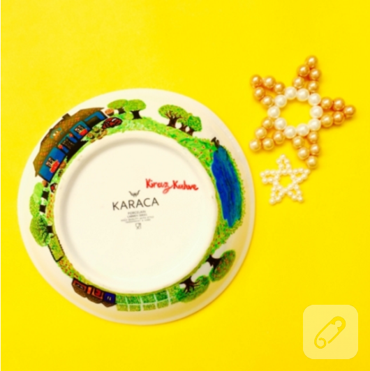 Porselen Tabak Boyama Diy 10marifetorg