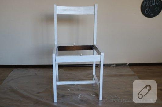 Ahşap Sandalye Boyama Nasıl Yapılır 10marifetorg