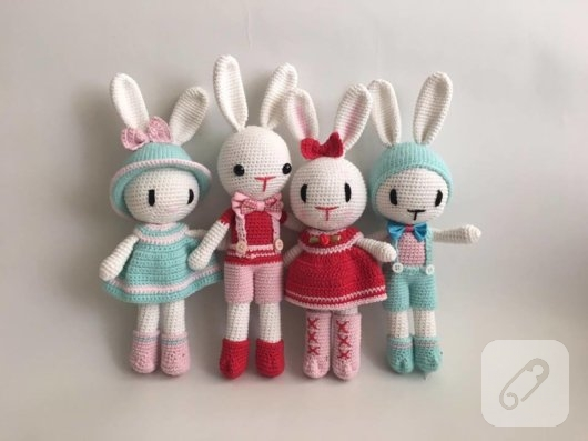 amigurumi-tavsan-sik-igne-oyuncaklar