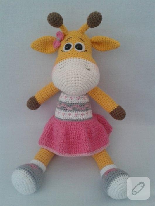 cool Amigurumi Oyuncak Zürafa Yapımı Canim Anne http://www ... | 707x530