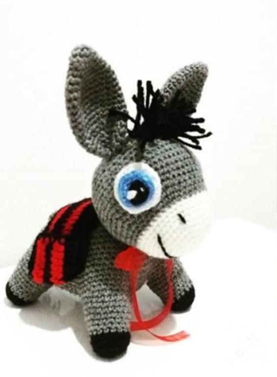 amigurumi-esek-orgu-oyuncaklar