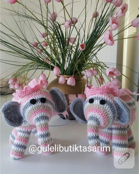 amigurumi-fil-orgu-oyuncaklar
