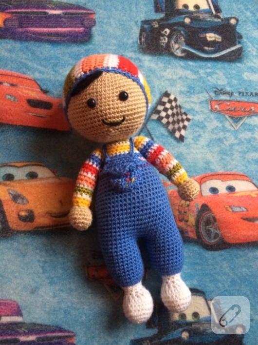 Büyük Boy PEPEE'nin TARİFİ / YAPILIŞI | Amigurumi oyuncak bebek ... | 707x530