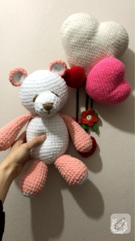 Amigurumi Kadife Ayıcık - Plush Teddy Bear | Poupée, Crochet, Enfant | 941x530