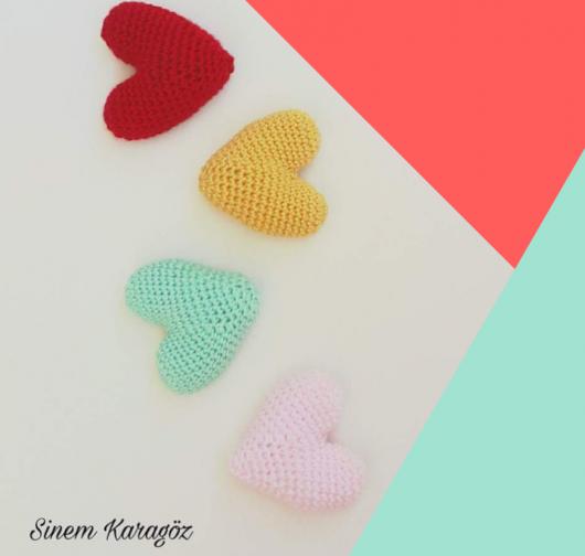 amigurumi kalp anahtarlık amigurumi heart key ring kalp anahtarlık ... | 504x530