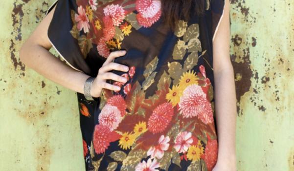 Eşarptan Nasıl Tarz Bir Yazlık Elbise Yapılır 90