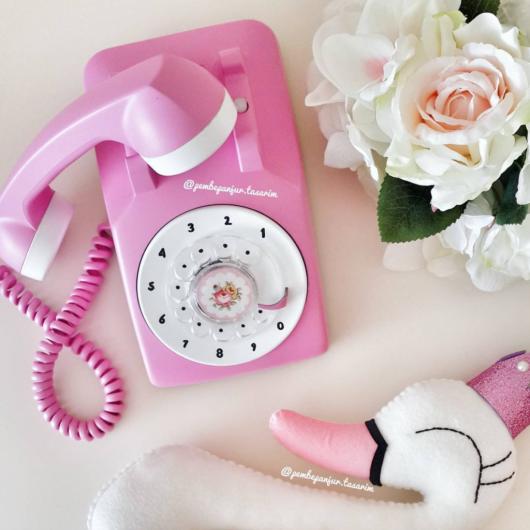 Eski Telefon Ve Daktilo Boyama çalışmaları 10marifetorgda