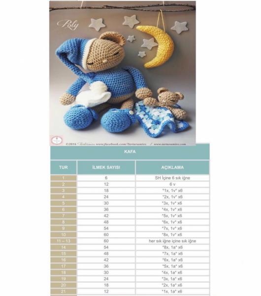 Sevgililer Günü İçin Amigurumi Ayıcık Yapımı - El Sanatları ve Hobi | 600x530