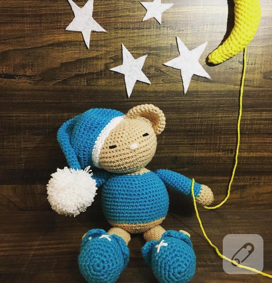 Amigurumi Oyuncak Ayı Yapımı - Free Pattern #crochet #amigurumi ... | 988x950