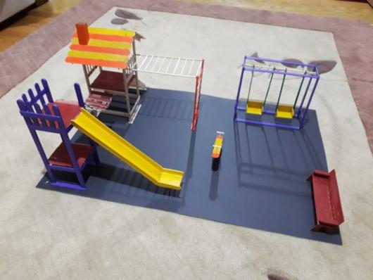 Minyatür çocuk Parkı Yapımı 10marifetorgda