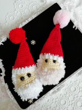 Amigurumi Noel Baba videosu