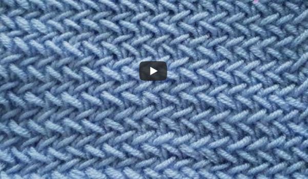 Video: Balık sırtı örgü modeli