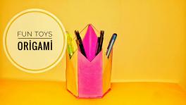 Video: Kağıttan masaüstü kalemlik yapımı