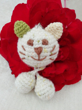 Video: amigurumi zıp zıp kedi anahtarlık yapımı