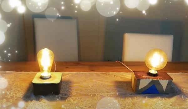 Video: Betondan lamba yapımı