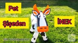 Video: Pet şişeden inek yapımı