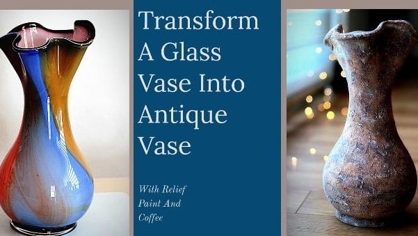Video: Cam vazonun antik vazoya dönüşümü