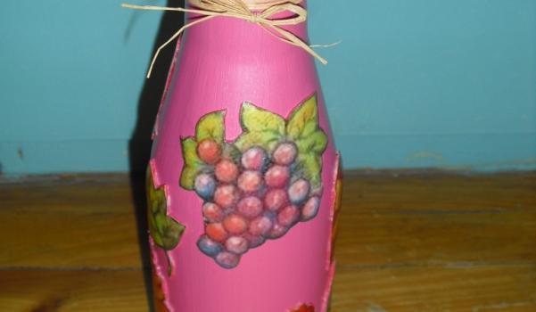 şişe üzerine hamur kabartma 1