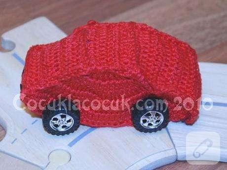 Çok Kolay Amigurumi Küçük Araba Yapılışı - orguyapilisi.com | 345x460