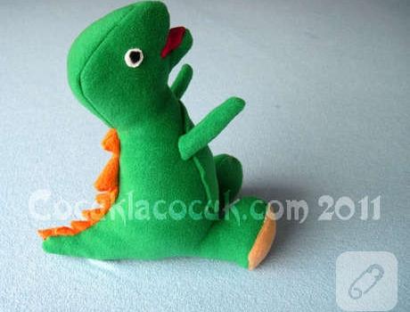 Amigurumi Crochet Dinozor Free Pattern Yapılışı | 350x460