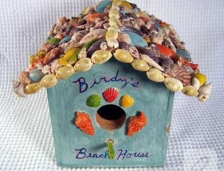 Kuş Evi Boyama 10marifetorg
