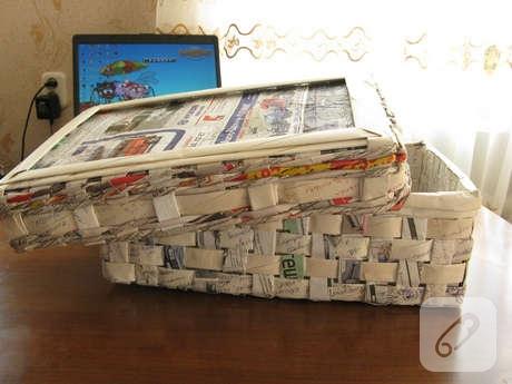 Коробка из газет своими руками и крышка 516