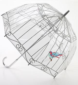 Kuş Kafesi şeffaf şemsiye 10marifetorg