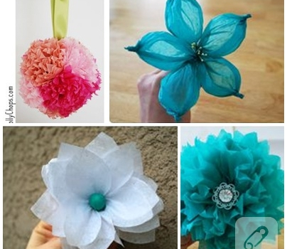 How to make a paper flower 10marifet how to make a paper flower mightylinksfo