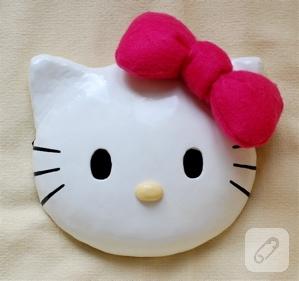 Amigurumi) Hello Kitty Kedi Yapımı 1. Bölüm - Kafa Yapımı, Örme ... | 281x299