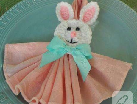 Patis Tasarım - Amigurumi Tavşanlı Pano | MiaMano | 350x460