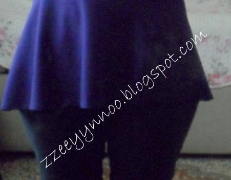 Peplum bluz
