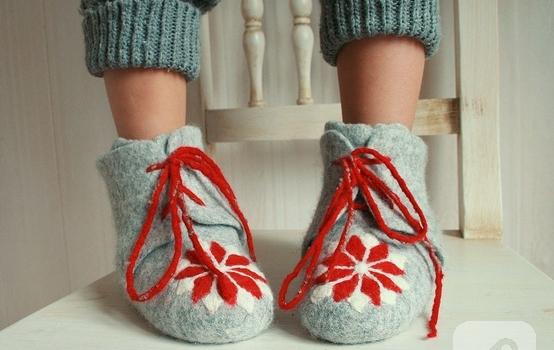 keçe ayakkabı1