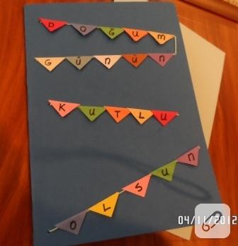 Kolay doğum günü kartı
