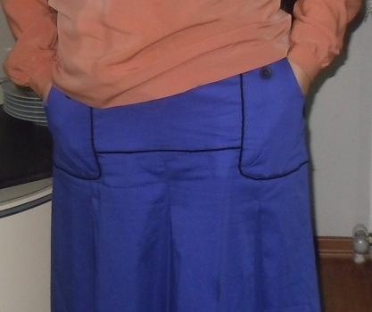 Etek bluz dikişi