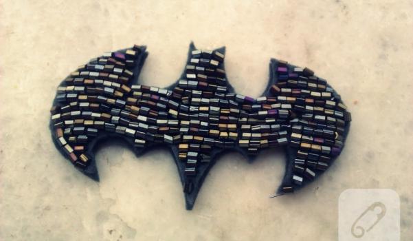 Boncuklu Batman Kolye (2)