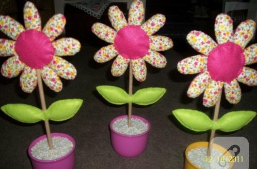 Patchwork çiçekler