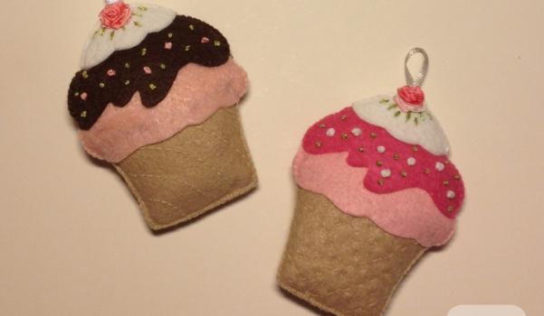 frambuazlı cupcake iğnedenlik pembe camekan 1 6