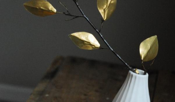 DIY-altin-rengi-serit-yapraklar-1