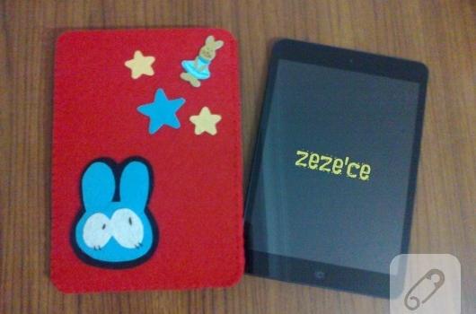 Keçe iPad Mini kılıfı